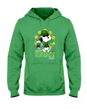 Happy St Patrick's Day Hooded Sweatshirt front