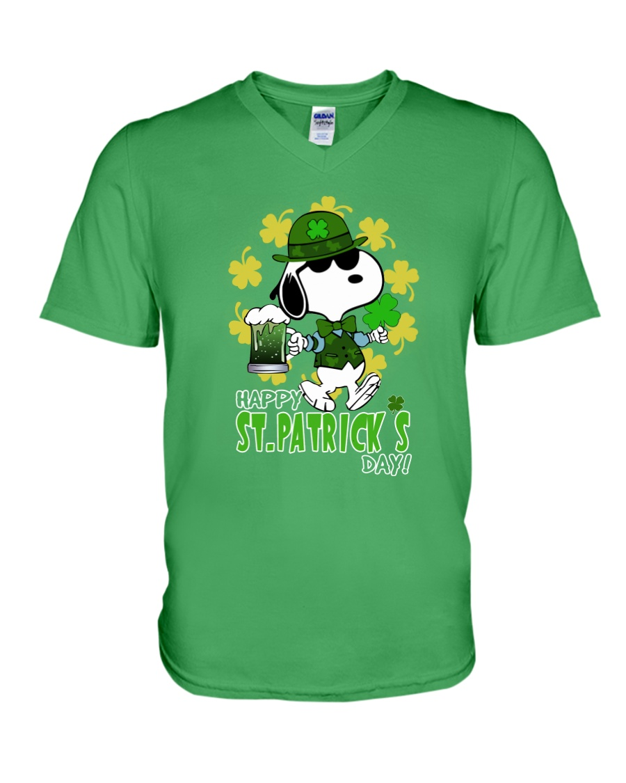 Happy St Patrick's Day V-Neck T-Shirt