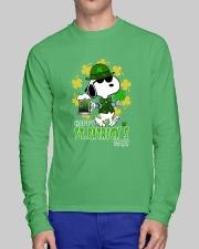 Happy St Patrick's Day Long Sleeve Tee lifestyle-unisex-longsleeve-front-1
