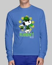 Happy St Patrick's Day Long Sleeve Tee lifestyle-unisex-longsleeve-front-1