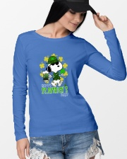 Happy St Patrick's Day Long Sleeve Tee lifestyle-unisex-longsleeve-front-4