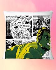 The Incredible Hero Square Pillowcase aos-pillow-square-front-lifestyle-9
