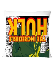 The Incredible Hero Square Pillowcase back