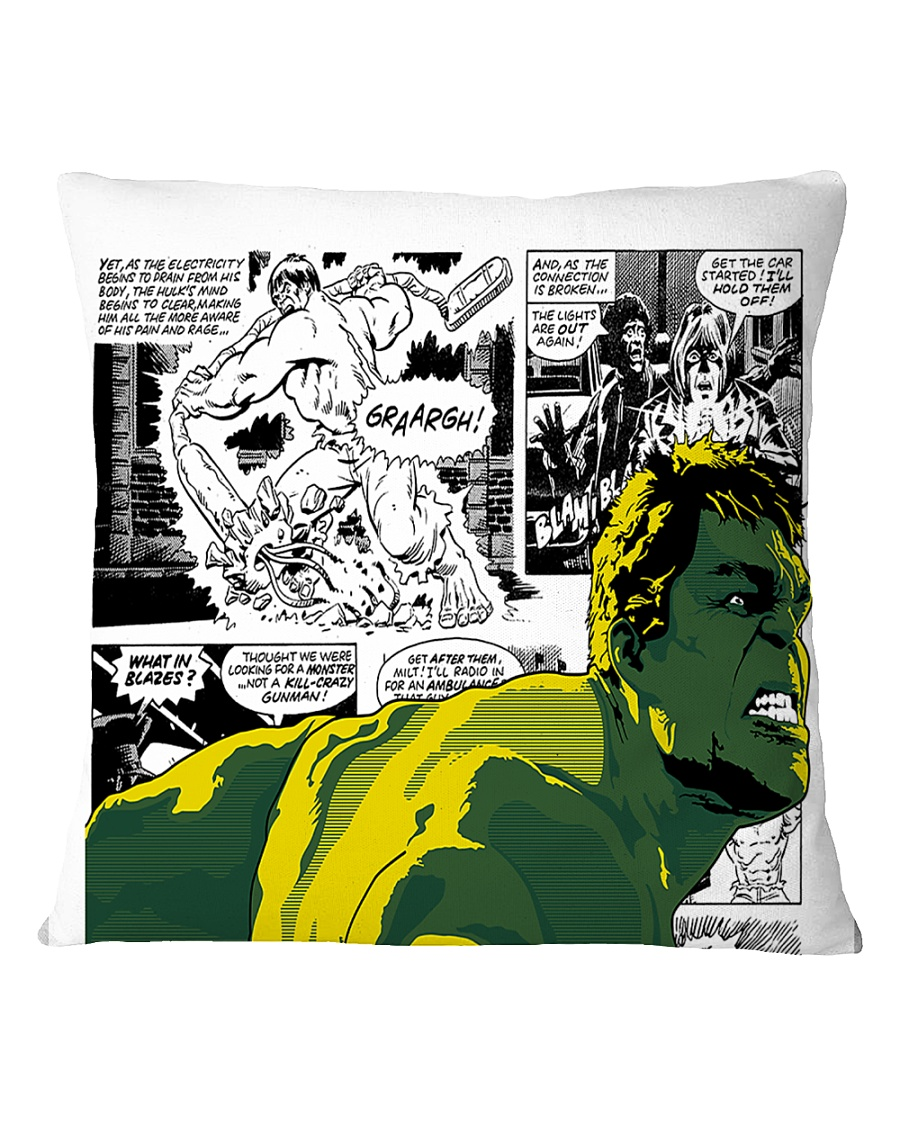 The Incredible Hero Square Pillowcase