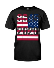 8645 Anti Trump Classic T-Shirt front