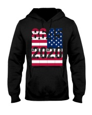 8645 Anti Trump Hooded Sweatshirt thumbnail
