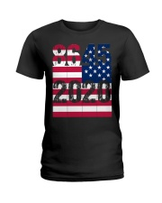 8645 Anti Trump Ladies T-Shirt thumbnail