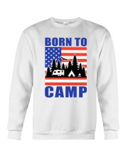 Born To Camp Crewneck Sweatshirt thumbnail