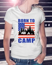 Born To Camp Ladies T-Shirt lifestyle-women-crewneck-front-7