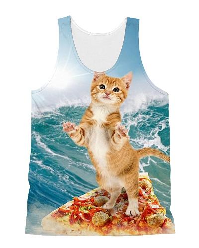 Cat Surfing