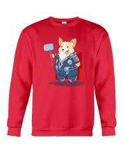Super Corgi Crewneck Sweatshirt front