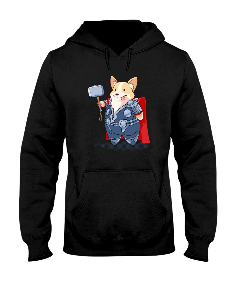 Super Corgi Hooded Sweatshirt