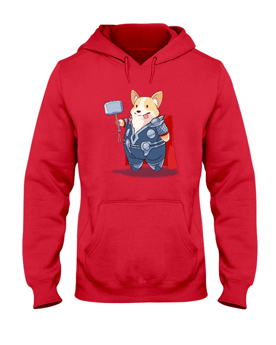 Super Corgi Hooded Sweatshirt