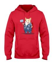 Super Corgi Hooded Sweatshirt front