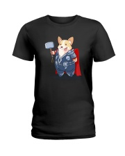 Super Corgi Ladies T-Shirt thumbnail