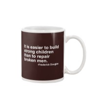 It Is Easier To Build Strong Children Mug thumbnail