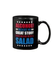 No Great Story Ever Began With A Salad Mug thumbnail