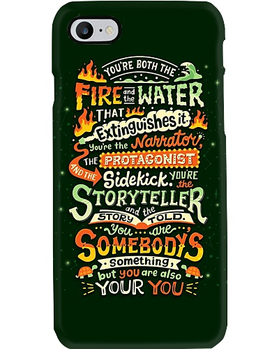 You Are Both The Fire And The Water