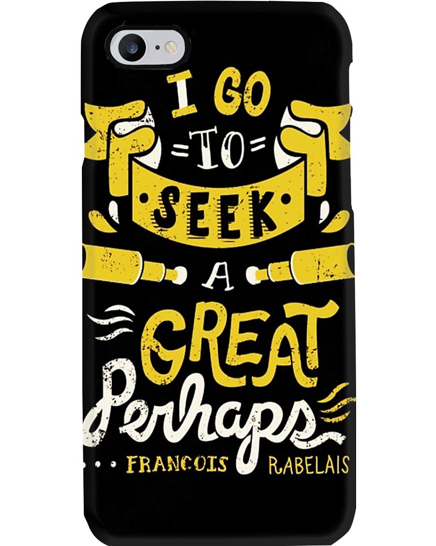I Go To Seek A Great Perhaps Phone Case
