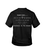 Sometimes Violence Is The Answer Youth T-Shirt thumbnail