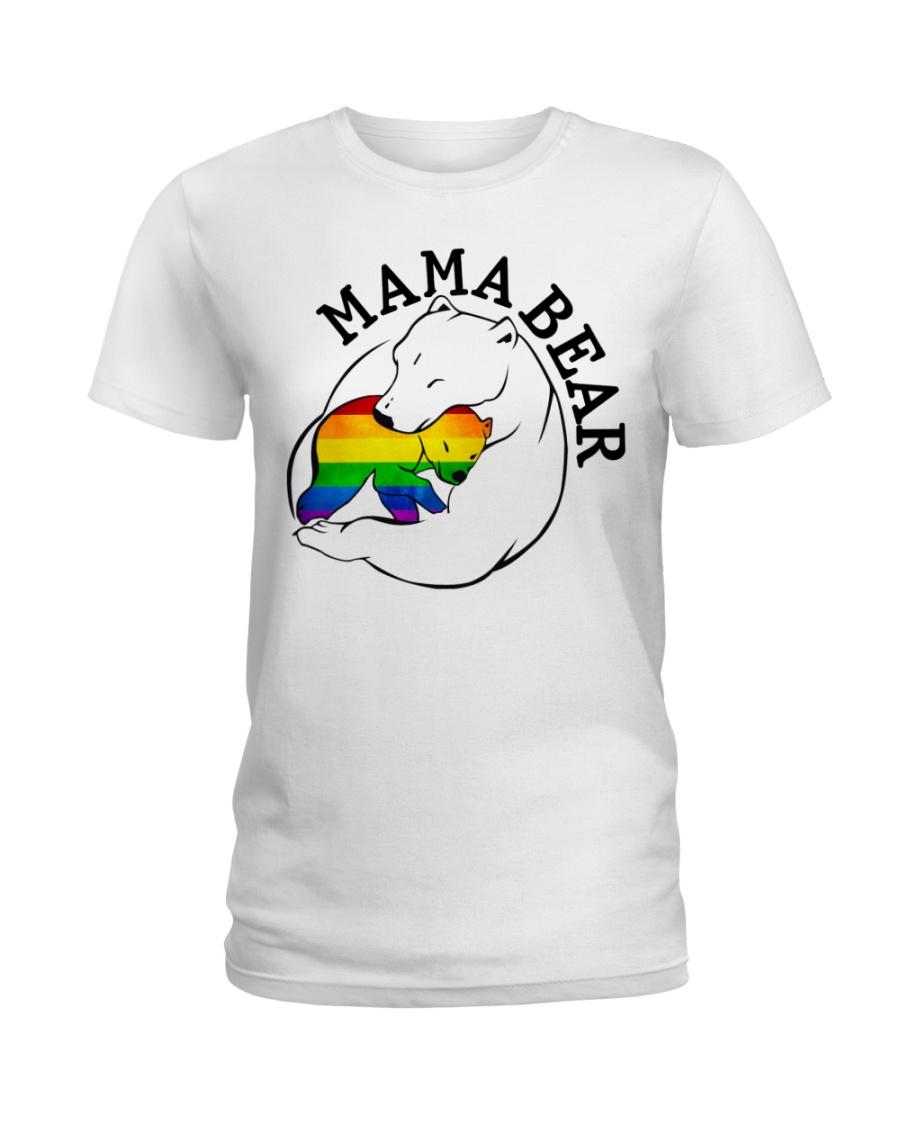 Mama Bear - Gay Shirt Ladies T-Shirt