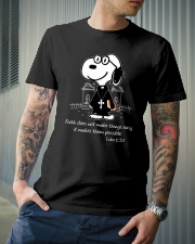 Faith Does Not Makes Things Easy Classic T-Shirt lifestyle-mens-crewneck-front-6