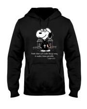 Faith Does Not Makes Things Easy Hooded Sweatshirt thumbnail