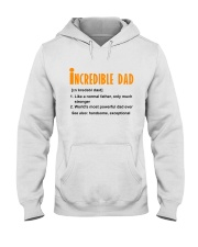 Powerful Dad Hooded Sweatshirt thumbnail