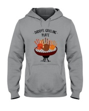 Daddy's Grilling Plate Hooded Sweatshirt thumbnail