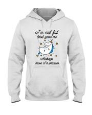 I'm Not Fat Hooded Sweatshirt thumbnail