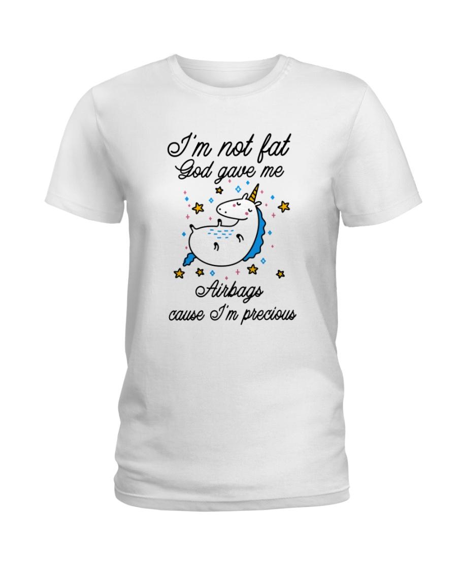I'm Not Fat Ladies T-Shirt