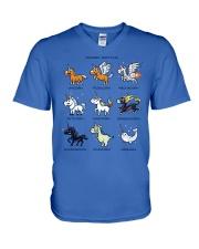 Unicorn Spotting V-Neck T-Shirt thumbnail