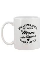 But She Is A Mom Mug back