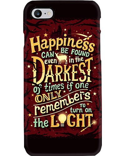 Happiness Can Be Found Even In The Dark