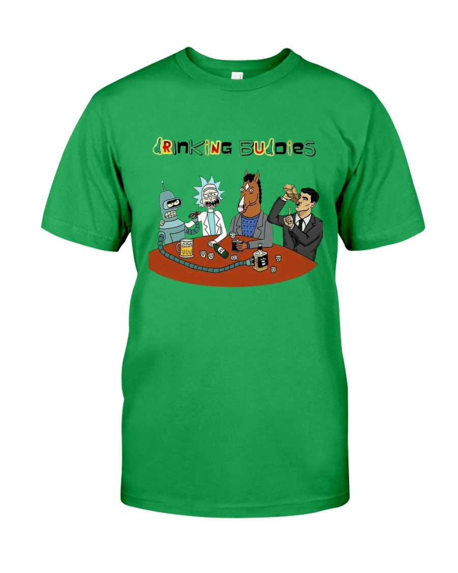 Drinking Buddies Classic T-Shirt