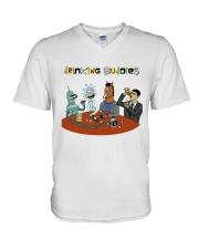 Drinking Buddies V-Neck T-Shirt thumbnail