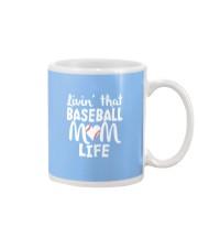 Baseball Mom Life Mug thumbnail