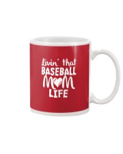 Baseball Mom Life Mug front
