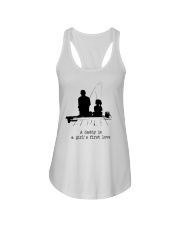 A Daddy Is A Girl's First Love Ladies Flowy Tank thumbnail