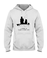 A Daddy Is A Girl's First Love Hooded Sweatshirt thumbnail