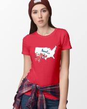 Auntie Ladies T-Shirt lifestyle-women-crewneck-front-9