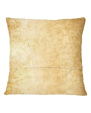 Not All Those Who Wander Are Lost Square Pillowcase back