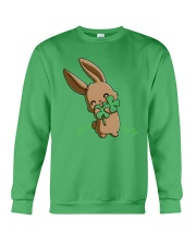 Hug The Clover All Over Crewneck Sweatshirt thumbnail