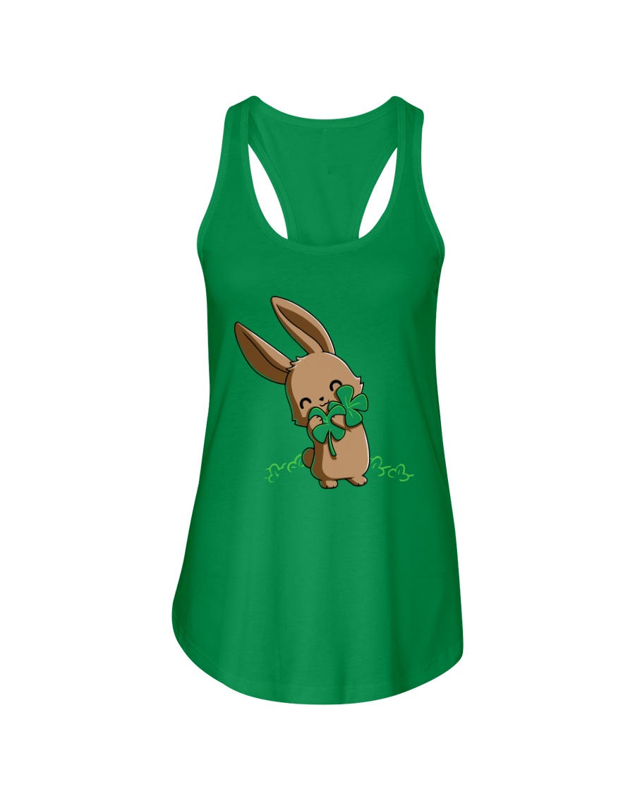 Hug The Clover All Over Ladies Flowy Tank