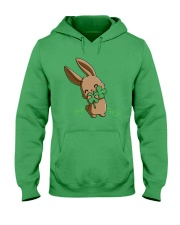 Hug The Clover All Over Hooded Sweatshirt thumbnail