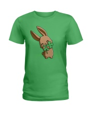 Hug The Clover All Over Ladies T-Shirt thumbnail