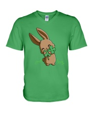 Hug The Clover All Over V-Neck T-Shirt thumbnail