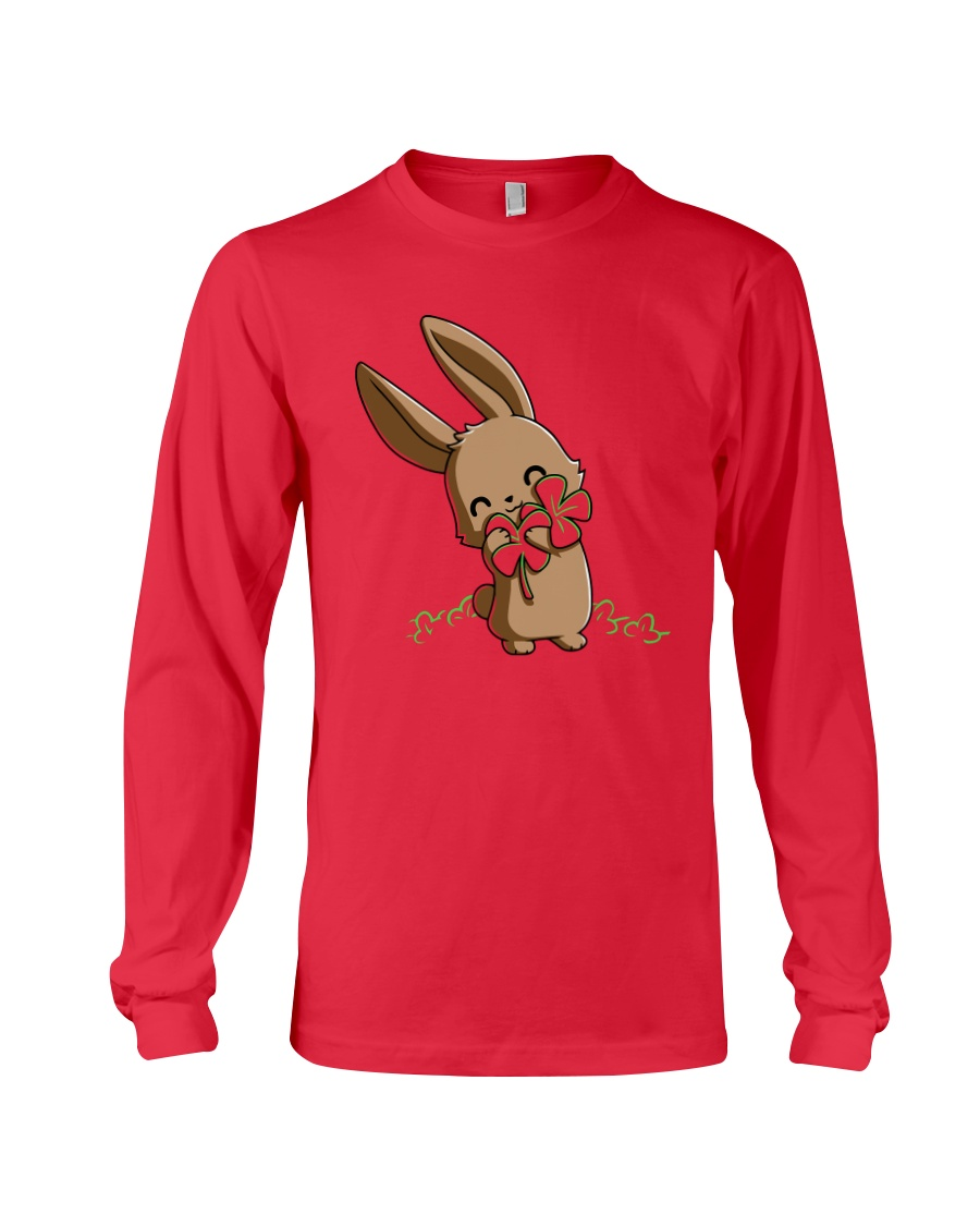 Hug The Clover All Over Long Sleeve Tee