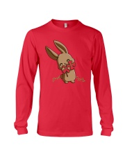 Hug The Clover All Over Long Sleeve Tee front