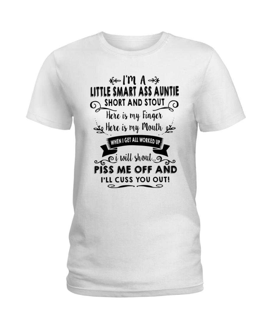 I'm A Little Smart Auntie Ladies T-Shirt